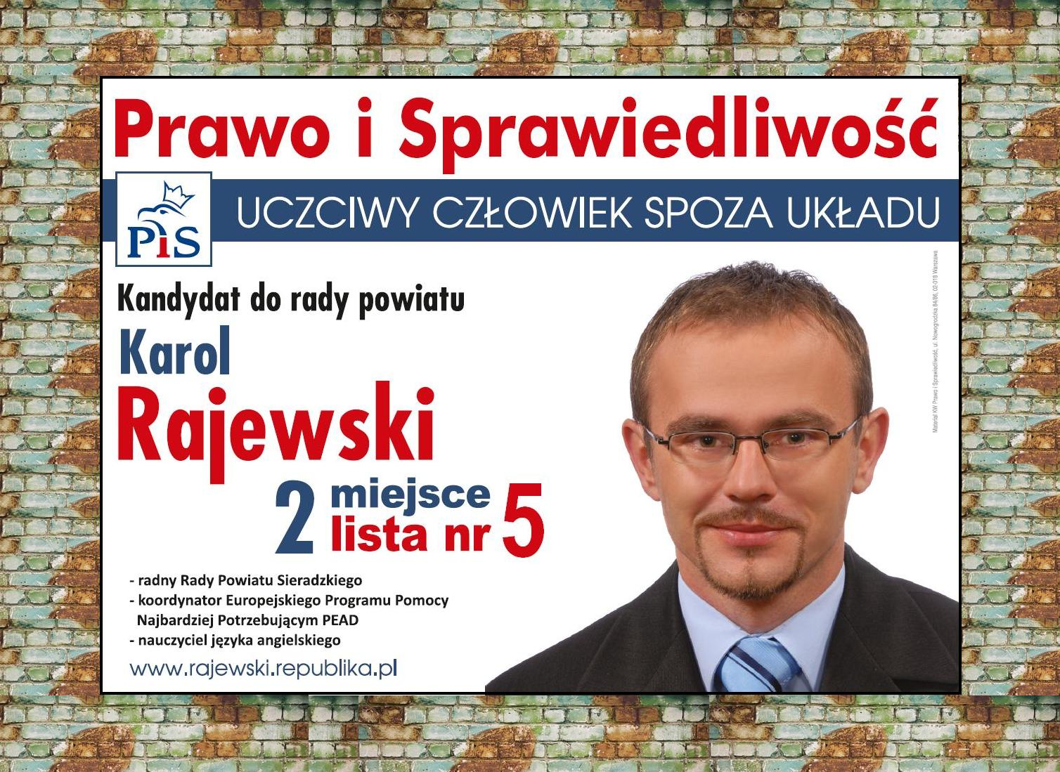 Wygrana W Wyborach Samorządowych Karol Rajewski