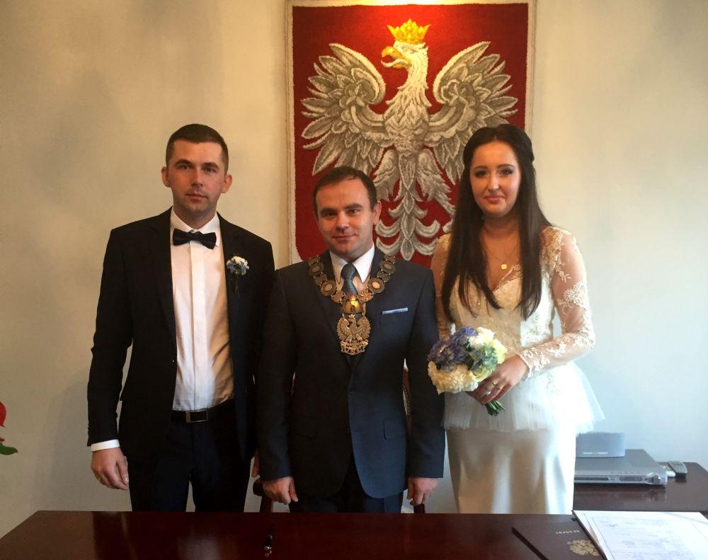 Mój Pierwszy ślub Cywilny Karol Rajewski Burmistrz Błaszek 2014